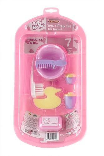 casdon-711-baby-huggles-banera-y-accesorios-de-bano-para-munecos-de-hasta-40-cm-color-rosa