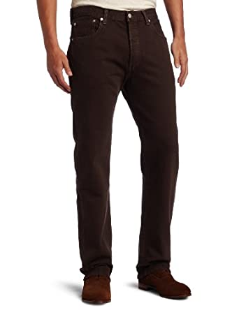 Levi's Men's 501 Original Fit Jean, Cafe, 36x30