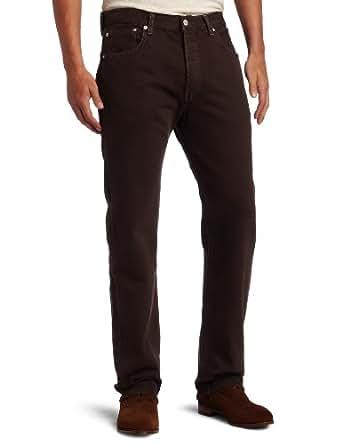 Levi's Men's 501 Original Fit Jean, Cafe, 34x32