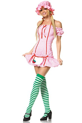 Strawberry Doll Adult Costume - Adult Costumes