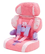 Doll Car Seat and Booster with Seatbe…