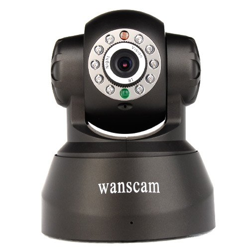 Wanscam Wireless Ip Camera Pan/Tilt/ Night Vision/ Internet Alarm Surveillance Camera Built-In Microphone With Phone Remote Monitoring Support Top End Made front-1066439