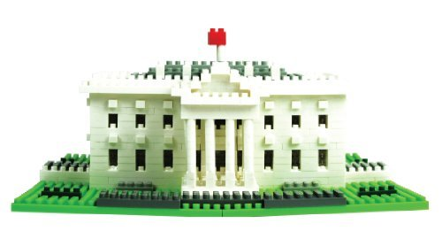 Nanoblock From The Usa Collection - Nanoblock White House