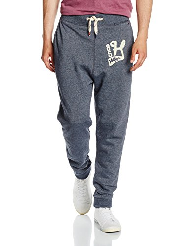 Hilfiger Denim Thdm Basic Jogging Pant 1, Pantaloni Sportivi Uomo, Blau (Black Iris 002), 56