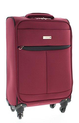 Pianeta Trolley baule valigia, trolley da viaggio bagaglio per il viaggio (rosso M)