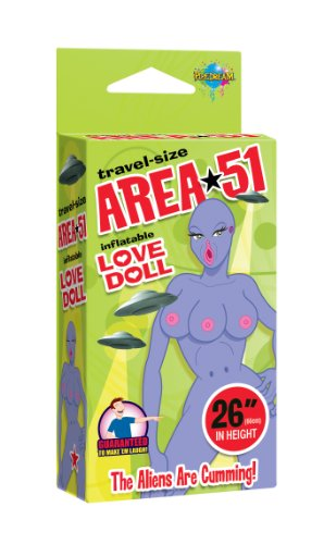 Pipedream Products Travel Size Area 51 Love Doll