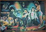 The Rolling Stones 5x3 Feet Cloth Textile Fabric Poster Amazon.com