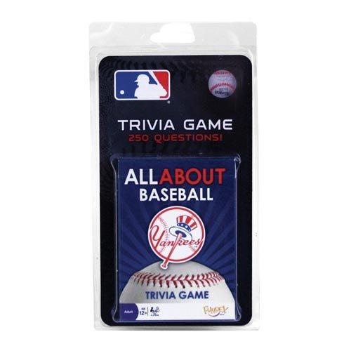 New York Yankees All About Trivia Card Game - 1