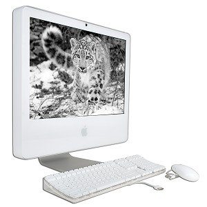 "Apple Imac G5 Powerpc G5 2.1Ghz 512Mb 250Gb Dvd±Rw Radeon X600 Xt 20"" Airport Os X W/Webcam & Bluetooth"
