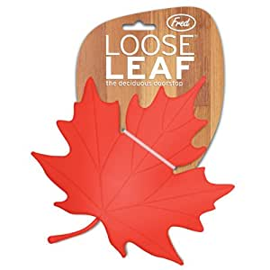 Fred loose leaf novelty leaf shaped doorstop door stops office products - Novelty doorstop ...