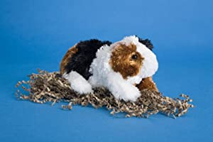 "Copper Tri-Color Guinea Pig 7"" by Douglas Cuddle Toys"