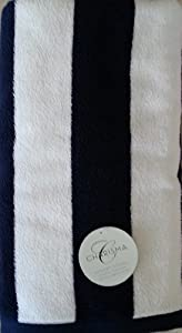 Charisma Resort Beach Towel (Dark Blue Cabana Stripe / 35 in x 70 in) at Sears.com