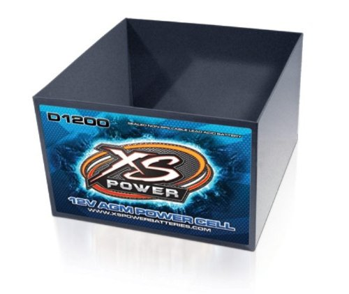 XS Power MC-D1200 Protective Metal Case for D1200 Batteries