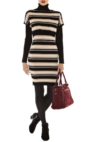 Blanket Stripe Merino Knit Dress
