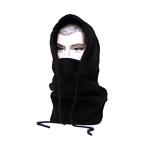 Oldelf Tactical Heavyweight Balaclava Outdoor Sports Mask for Outdoor hiking Camping Hiking Skiing Cycling and Other sports (Black)