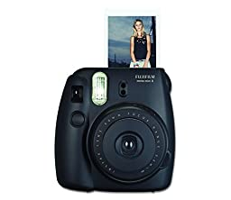 Fujifilm Instax Mini 8 Instant Film Camera (Black) (Certified Refurbished)