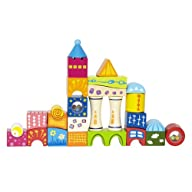 Hape – Fantasia Blocks Castle Wooden…
