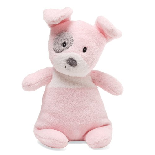 "Gund Spotto Dog Pink 9"" Plush - 1"