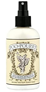 Poo~Pourri Before-You-Go Toilet Spray 8-Ounce Bottle, Original