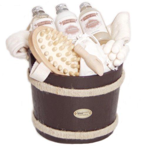 coffret de bain tropical au beurre de cacao id e cadeau france. Black Bedroom Furniture Sets. Home Design Ideas
