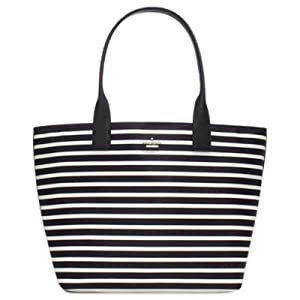 kate spade york Classic Nylon Brynne Baby Bag in Clotted Cream by L&L Merchandise