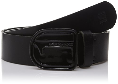 G-STAR RAW Lador Belt, Cintura Uomo, Nero (Black 990), 95 cm (Taglia Produttore: 95 Cm)