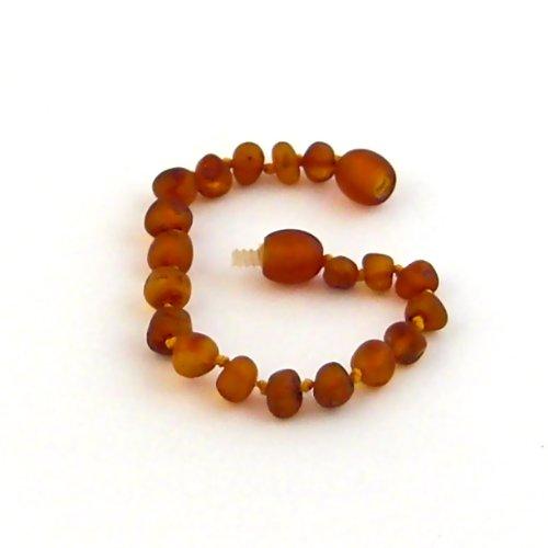 "Hazelaid (TM) 5.5"" Baltic Amber Nutmeg Bracelet - 1"