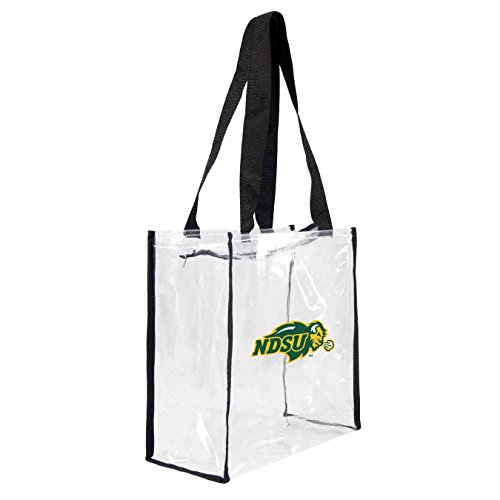ncaa-north-dakota-state-bison-square-stadium-tote-115-x-55-x-115-inch-clear-by-littlearth