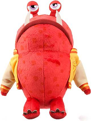 Disney / Pixar MONSTERS UNIVERSITY Exclusive 8 Inch Bean Bag Plush Big Red [JOX]