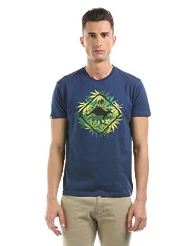Hot Buttered T-Shirt Manica Corta Leaf [Blu Navy]