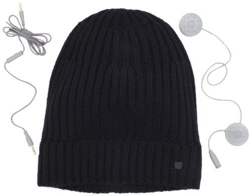 Ur Men'S Ribbed Hat, Black, One Size