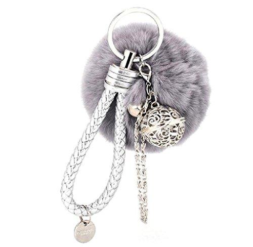 hipzop-boule-de-fourrure-cell-phone-car-keychain-pendentif-main-charm-keyring-porte-cles-gris
