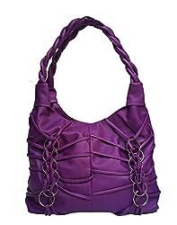 Vintage Stylish Ladies Handbag Purple(bag 174)