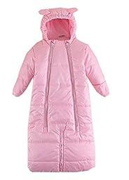 Bigood Baby Winter Thicken Warm Cotton Sleep Bag Sleepsack Pink S Bust 31 cm