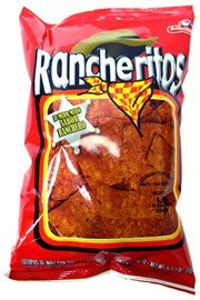 Sabritas Rancheritos Flavored Chips, 2.125 Oz Bags (Pack of 32)