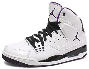 Nike Air Jordan SC-1 Herren Basketball Schuhe, Weiß, Größe 42