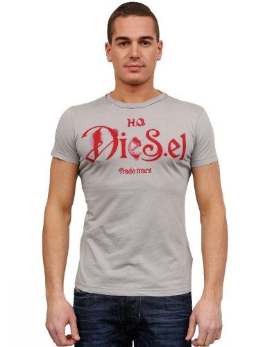 Diesel T-ninao 94g Flare Grey Man T-shirts Make Men - S