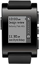 Pebble Smartwatch Montre Connectée Noire