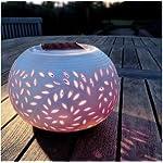 Innoo Tech** Colour Changing LED Garden Solar Ceramic Table Light