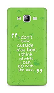 AMEZ i dont think out of the box Back Cover For Samsung Galaxy ON7