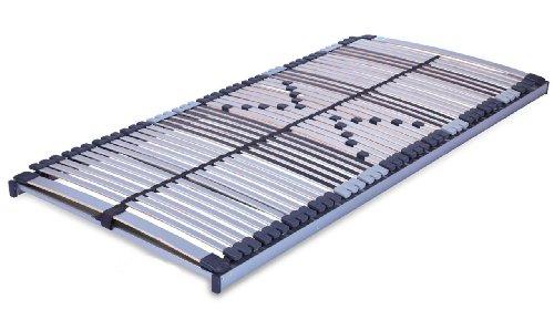 700110-200.90.7 7 Zonen-Lattenrost Trioflex NV starr, 44 Leisten, Mittelgurt, nicht verstellbar, 90 x 200 cm