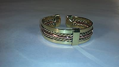 CA Jewelry and African Imports South African Copper and Brass Bracelet