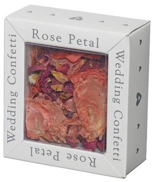 Biodegradeable Rose Wedding Day Confetti