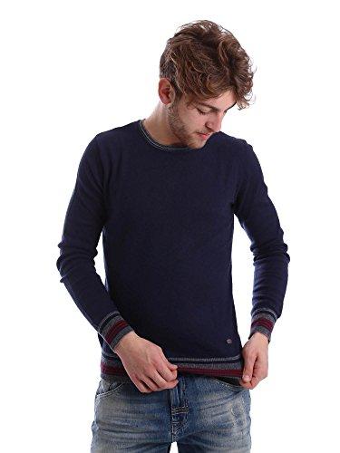 Gaudi jeans 62BU56009 Maglioncino Uomo Blu S