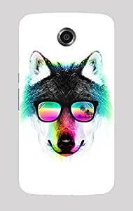 Back Cover for Nexus 6 Cool Fox