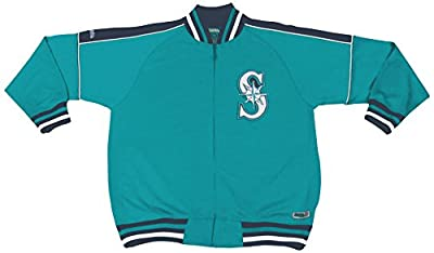 MLB Seattle Mariners Contrast Shoulder Track Jacket