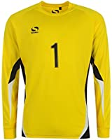 Sondico Kids Infants Core Goalkeeper Football T Shirt Top Long Sleeve Crew Neck