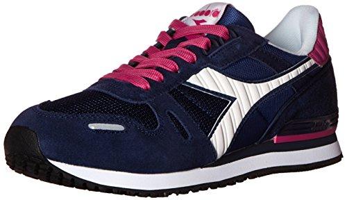 Diadora Women's Titan II W Running Shoe, Blue/Cosmos, 5.5 M US