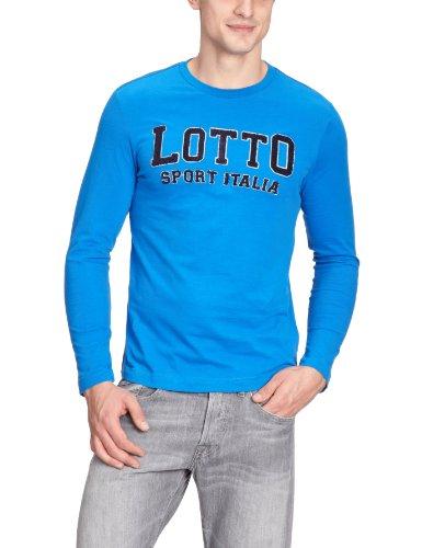 lotto-spencer-t-shirt-a-manches-longues-pour-homme-xxl-turquoise-bleu