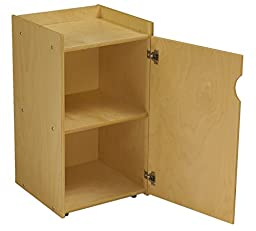 Childcraft 1526418 ABC Furnishings Mobile Audio Storage Unit, 28.5\